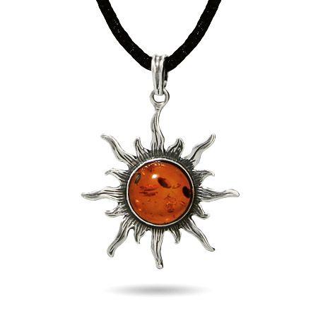 Sterling Silver Baltic Amber Sun Pendant: Baltic Amber, Silver Baltic, Sun Pendants, Pendants Perfect, Sterling Silver, Amber Sun, Amber Jewelry, Helios Sun, Pendants 58