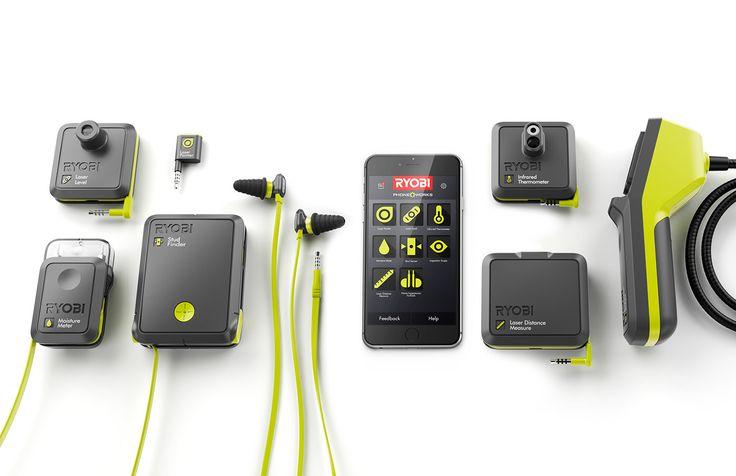RYOBI PhoneWorks on Behance