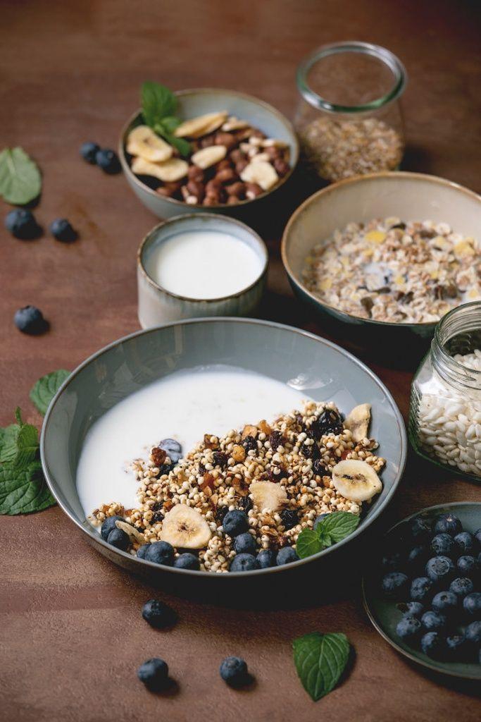 Homemade Puffed Millet Granola Paid Affiliate Ad Puffed Millet Granola Homemade In 2020 Food Granola Homemade