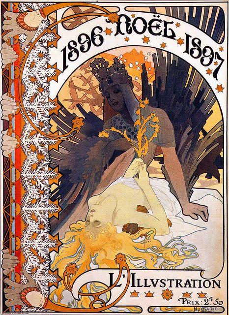 Alphonse Mucha 1896 #art #Mucha