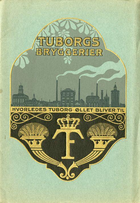 Tuborg vintage brochure