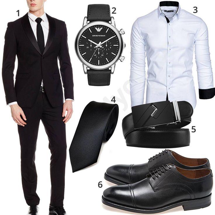 Elegantes Business-Outfit mit schwarzem Anzug (m0952) #anzug #business #gentlemen #gent #armani #outfit #style #herrenmode #männermode #fashion #menswear #herren #männer #mode #menstyle #mensfashion #menswear #inspiration #cloth #ootd #herrenoutfit #männeroutfit