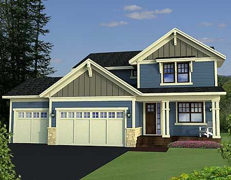 Best 25 3 car garage plans ideas on pinterest for 3 car garage cost per square foot