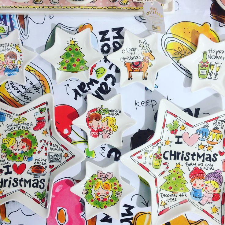 KERST SERVIES - we hebben het Kerst servies van Blond Amsterdam binnen! Maak met dit servies je Kerst nog gezelliger! www.schatkamerwebshop.com