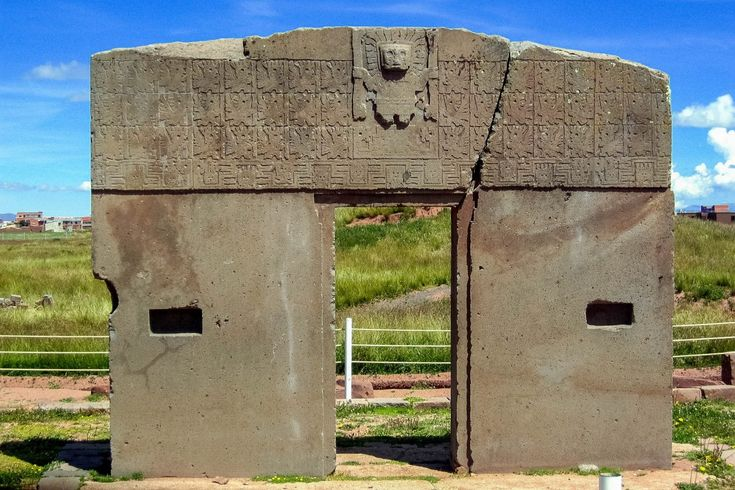 Ruinenstätte Tiwanaku, Bolivien