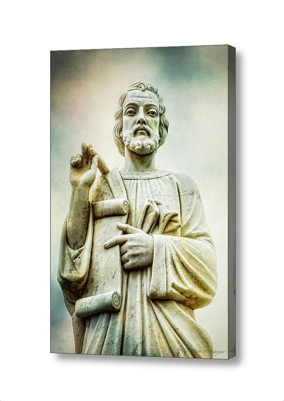 Saint Peter Apostle with Lamb's Book of Life by PaintedTulipStudio