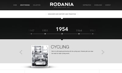 Rodania   About Us page for #inspiration #webdesign
