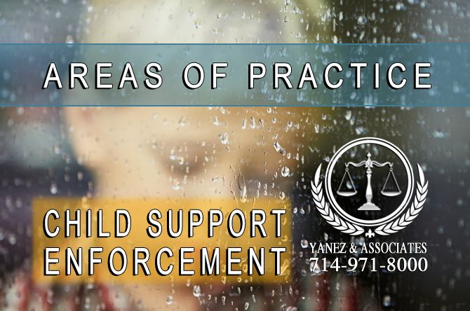 I Need Help with Child Support Enforcement in Orange County California
