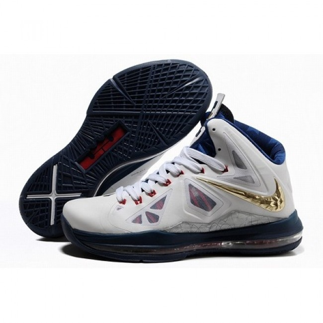 Cheap Nike Lebron 10 Shoes Gold White Blue Red, cheap Nike Lebron 10 Mens,  If you want to look Cheap Nike Lebron 10 Shoes Gold White Blue Red, ...