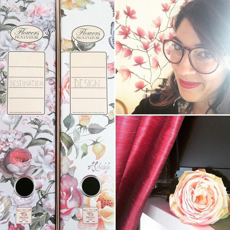 It's #SPRING in Office today!  #flowerpower #fuchsiapassion #postlunch #weddingdesign