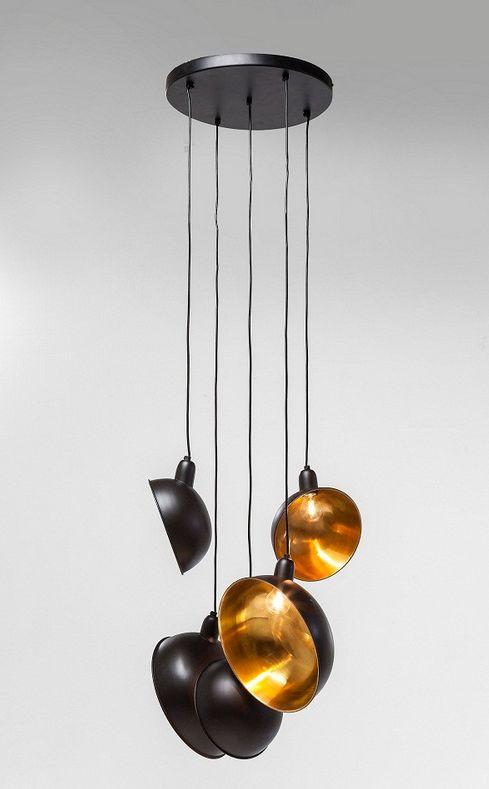 kare design. black and golden lamp.