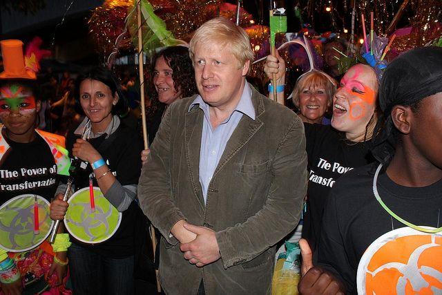 The Mayor's #Thames #Festival - borris johnson