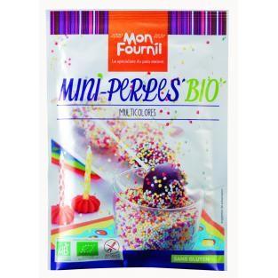 Mon Fournil - Décors Perles multicolores bio sans gluten 35g