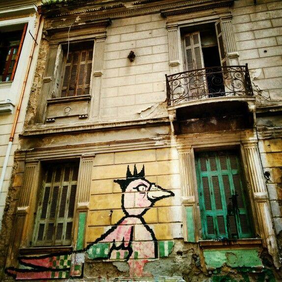 Psyrri, street art.