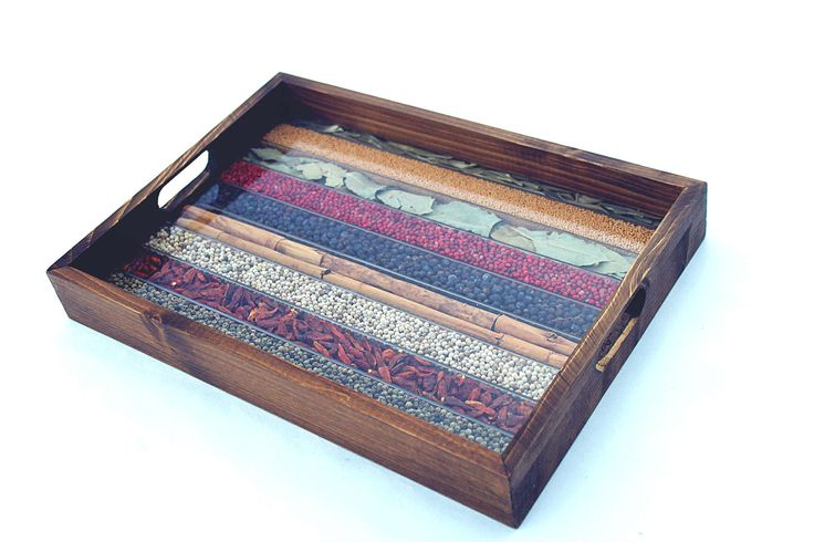 WOODEN TRAY DECORATED WITH NATURAL SPICES 90€ - #WoodenTray decorated with Natural Spices - #Xmas #OnSale on #AmazonDE #AmazonIT by http://www.amazon.de/gp/aag/main?seller=A1QPL980FAHTMT