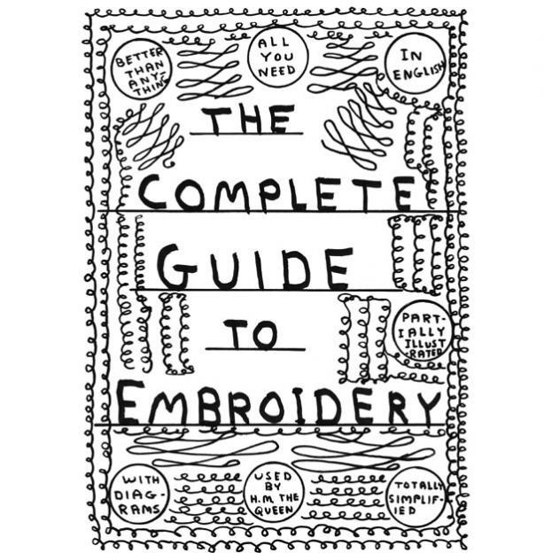 David Shrigley. Totally simplified.