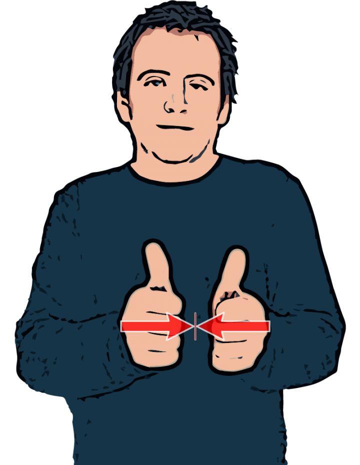 Agree - British Sign Language (BSL)