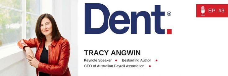 Dent | The Podcast with Glen Carlson  Ep 3. From services to products and taking on industry giants – with entrepreneur and author Tracy Angwin
