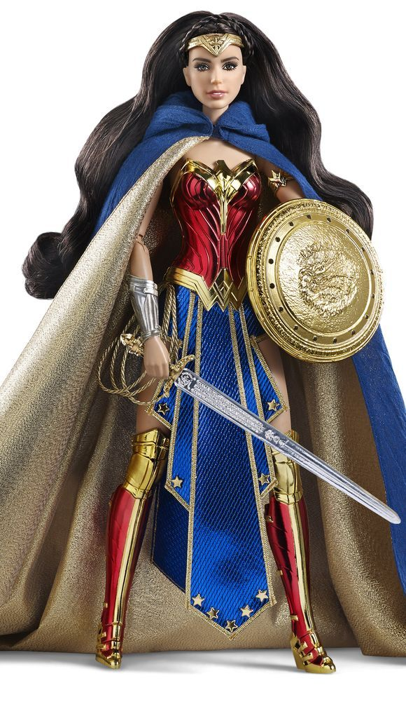 The Amazon Princess Wonder Woman Barbie ($80) available June 17 @ http://www.mattycollector.com/