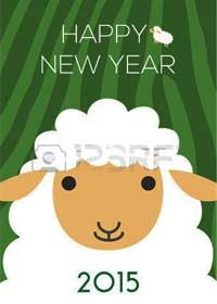 Chinese Horoscope 2015-Year of The Sheep - Happy New Year wishes to all the wonderful pinners I follow and those who follow me!