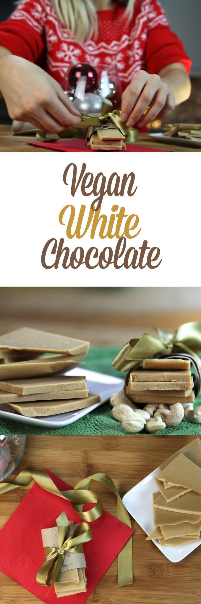 The vegan white chocolate recipe of your dreams.