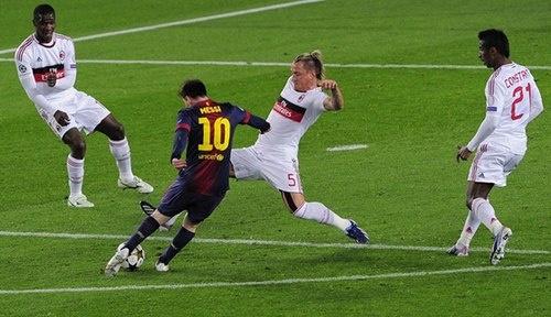 Messi, shot