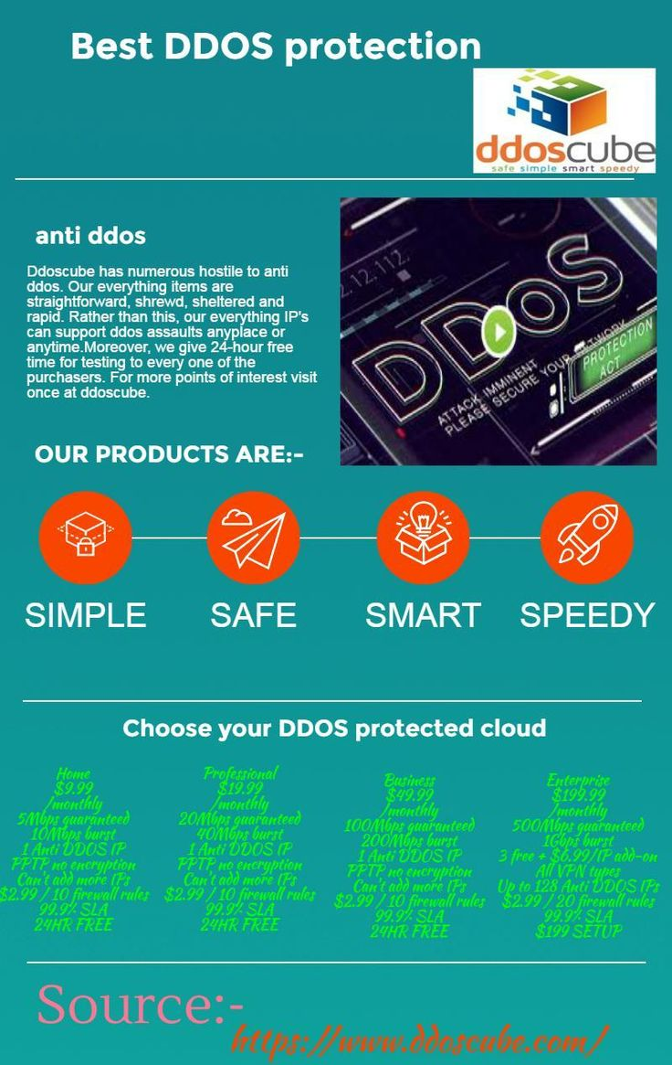 Ddoscube has numerous hostile to anti ddos. Our everything items are straightforward, shrewd, sheltered and rapid. Rather than this, our everything IP's can support ddos assaults anyplace or anytime.Moreover, we give 24-hour free time for testing to every one of the purchasers. For more points of interest visit once at ddoscube.
