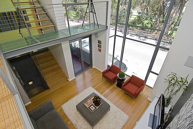 Double height living space ideas living room design for Double living room ideas