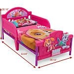 "Nickelodeon Paw Patrol Skye and Everest 3D Toddler Bed - Delta - Babies""R""Us"