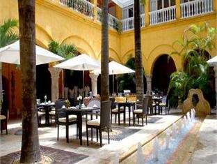 Hotel Charleston Santa Teresa Cartagena, Colombia. Take fresh air, rest and enjoy at the Patio.