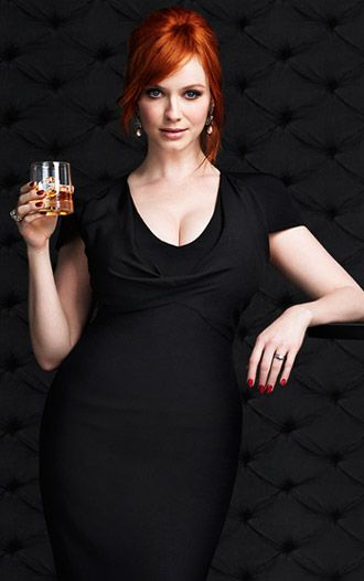 Christina Hendricks Mad Men Interview - Christina Hendricks Interview - Esquire