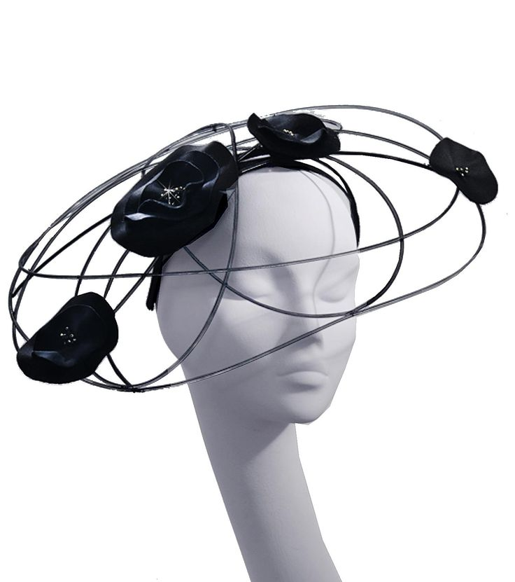 Stephen Jones Nylon - Motion Spiral Headband
