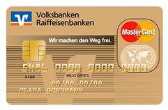 GoldCard Die Kreditkarte für anspruchsvolle Kunden Die GoldCard im edlen Design lässt mit einem umfangreichen Versicherungspaket