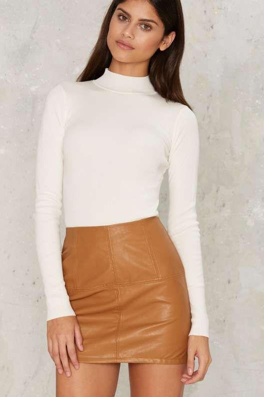 Make Mine Mod Mini Skirt - Bottoms