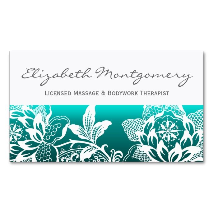 2049 best massage business cards images on pinterest massage white flowers modern appointment business card accmission Choice Image
