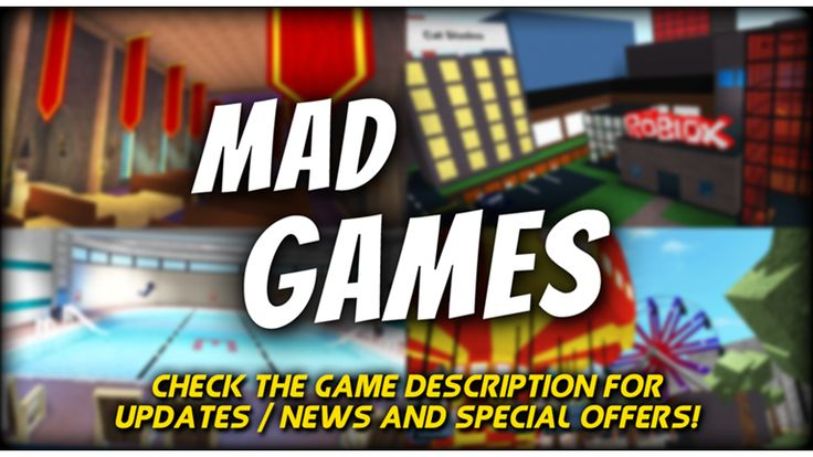 [NEW] Mad Games [Murder] (v2.24) - ROBLOX