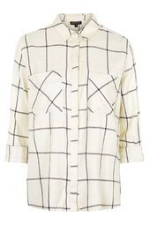 TALL Large Scale Checked Shirt