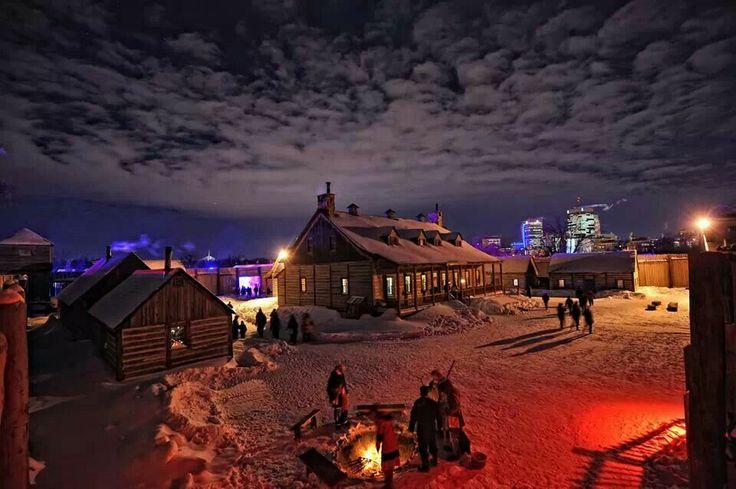 Festival du voyager. Winnipeg Canada