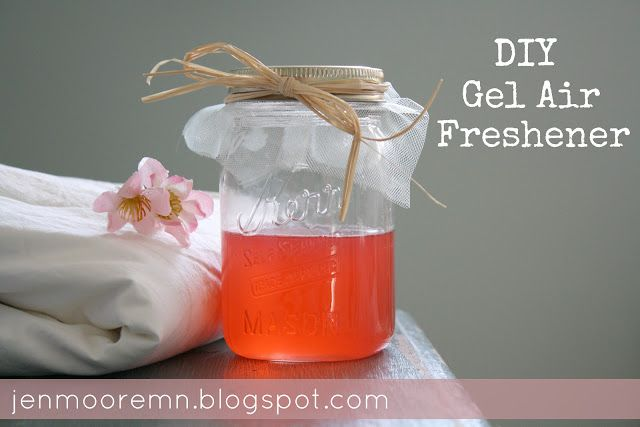 a single sunbeam diy gel air freshener gifts ideas