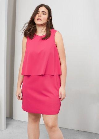 Double layer dress   VIOLETA BY MANGO