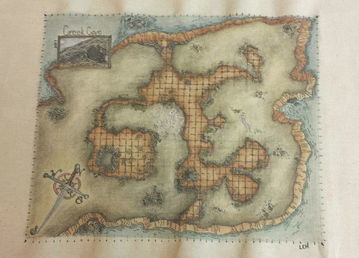 how to create dungeon dragon grid