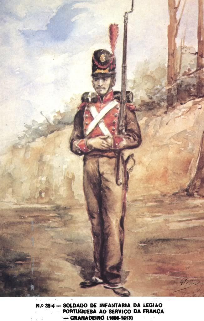 Granatiere della legione portoghese