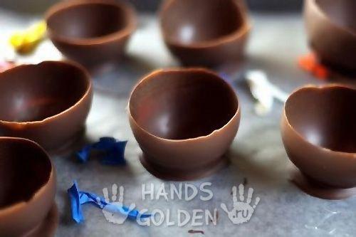 Шоколадные стаканчики для мороженого