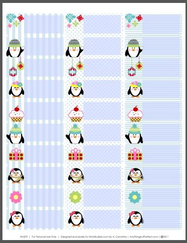 7 best Kawaii images on Pinterest Free printable, Free - mailing address labels template