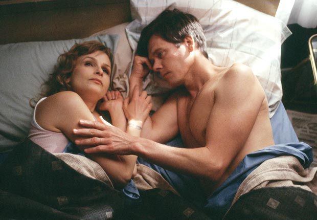 "Kevin Bacon and Kyra Sedgwick Playing ""Six Degrees of Kevin Bacon"" with Kyra Sedgwick makes for a short game — they've been married since 1988 (costarring in The Woodsman, 2004). What's more, as the PBS program Finding Your Roots learned, they're distant cousins. They have a son and a daughter.  Kevin stars in ""The Following"" TV show-2013."
