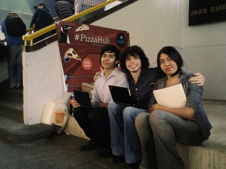 Foto No.2 #PizzaHub 01 (28/04/2012) en Facultad de Ingeniería, UNAM