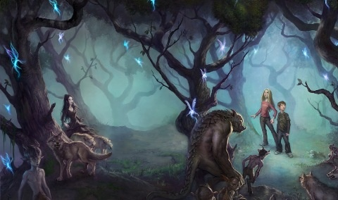 The forest from Fablehaven