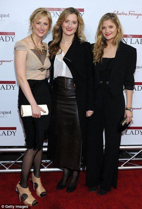 Meryl Streep's Daughters...all beautiful