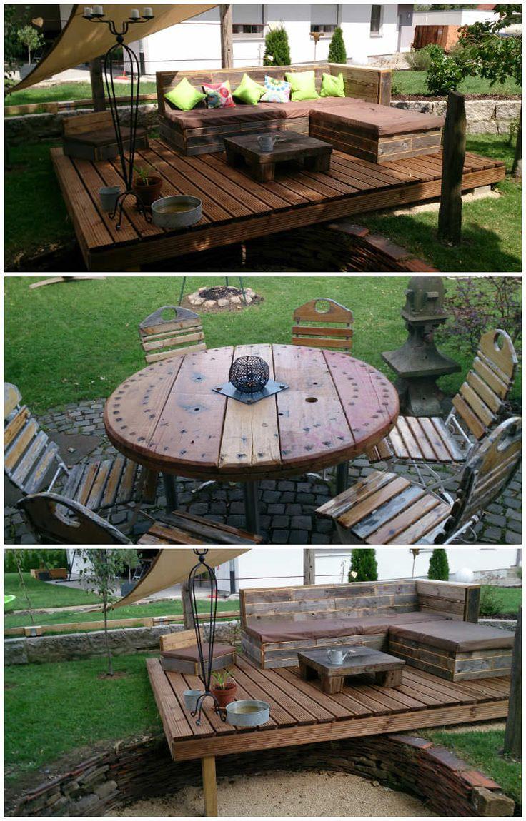 334 best pallet furniture images on pinterest pallet projects