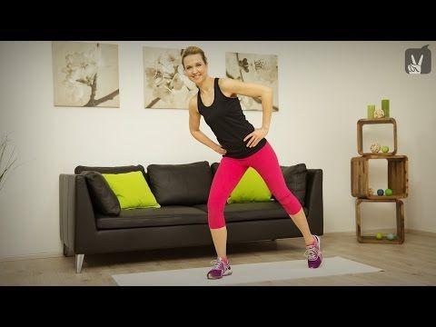 Fitness: Top 5 Übungen gegen Hüftspeck - YouTube